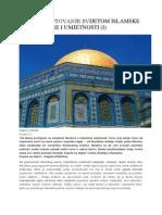 Islamska Arhitektura i Umjetnost