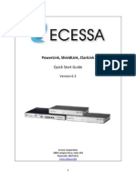 Ecessa PowerLink Series SW v3.0 Reference Manual