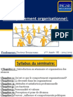 Le Comportement Organisationnel 1