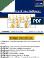 Le Comportement Organisationnel 1