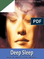 Deep Sleep - Cover