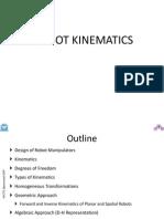Robot Kinematics