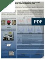 Análisis  de extractos de plantas mediante espectroscopia Raman de superficie amplificada (SERS)