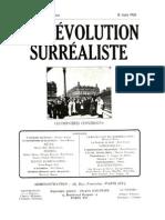 La Revolution Surrealiste 07 Juin 1926