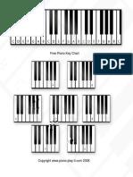 Piano Key Chart