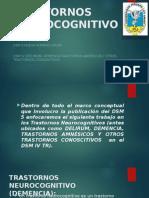 Trastornos Neurocognitivos. Segun El Dsm 5