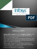 Infosys Presentation Bangalore