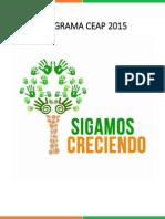 Programa Lista A - Sigamos Creciendo. CEAP 2015.