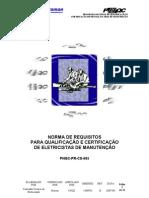 Programa Nacional de QualificaÇÃo e CertificaÇÃo De