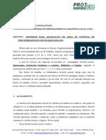 Memorial Para Organização Da Area de Vivencia NR-24