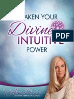 Awaken Your Divine Intuitive Power