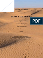 Eberhardt Notes de Route