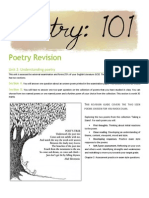 poetry seen poems revision