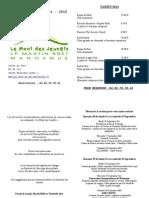 Menus 2014 - 2015 Maj Décembre
