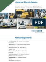 Preventive Maintenance Electric Service Equipment