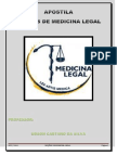 Noções de Medicina Legal