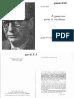 DOBB, MAURICE - Argumentos Sobre Socialismo