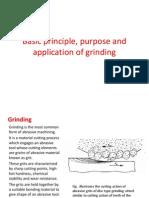 Basic of Grinding