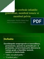 48.Paraliziile cerebrale infantile - Dr. Gheorghevici Teodor.ppt