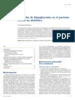 Sospecha de hipoglucemia en paciente no diabetico