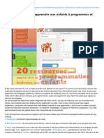 Cabaneaidees.com-20 Ressources Pour Apprendre Aux Enfants Programmer Et Coder