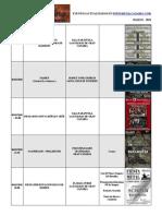 calendario metalcanario MARZO - 2010