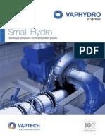 Catalogo de turbinas hidráulicas