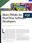 Pitfalls for Real Time Software Developer - 2