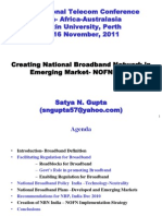 Emerging Broadband Regulation Oct.12