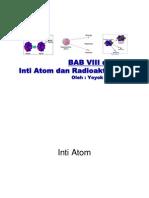 BAB 8 Dan 9 Inti Atom Dan Radioaktivitas