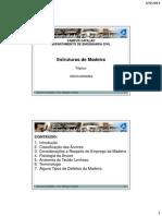 Aula 01 Estruturas de Madeira