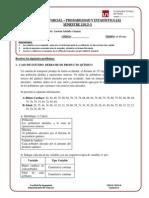 probabilidad y estadística examen parcial resuelto UPN
