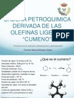 Cadela petroquímica de las olefinas ligeras Cumeno