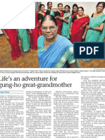 Life's an adventure for gung-ho great-grandmother, 5 Oct 2008, Straits Times