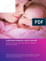 European Perinatal Health Report 2010