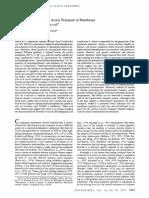 Shimon Schuldiner, Membrane Potential and Active Transport in Membrane Vesicles From E .Coli
