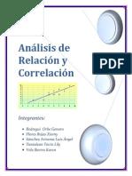 Análisis de Relación y Correlación