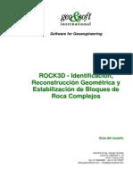 ROCK3D - Identificación, Reconstrucción Geométrica y Estabilización de Bloques de Roca Complejos