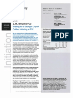 4-7-14 Weekly - Morgan Stanley Initiates Smucker at Hold