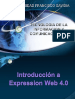 Leccion Ix Introduccion, Entorno a Expression Web