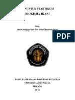 Buku Panduan Praktikum Biokim Thp 2014