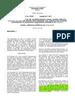 Heirs of Protacio G vs Servacio and Go, September 7, 2011