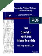 C4 Calculul si verificarea imbinarilor sudate.pdf