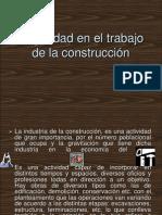 Seguridad en El Trabajo de La Construcción