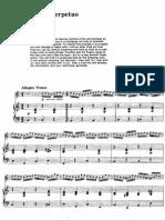 Paganini - Moto Perpetuo - Flute-piano