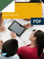 Documentación de Producto SAP