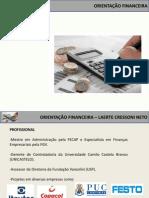 Orientação Finaceira