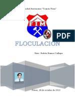 floculacion