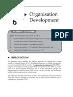 Topic 6 Organisation Development