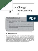 Topic 9 Change Interventions II